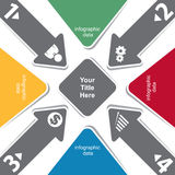 Creative infographic concept Stock Photo