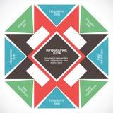 Creative infographic design Stock Image