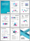 Creative infographic set Royalty Free Stock Image