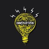 Creative innovation design Stock Photo
