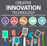 Creative Innovation Technology Ideas Inspiration Concept Royalty Free Stock Photo