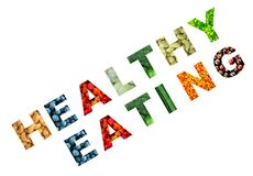 Creative phrase Healthy Eating