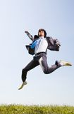 Creative jump royalty free stock images