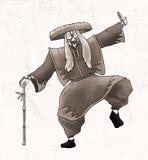 Creative kabuki character Stock Photos