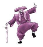 Creative kabuki character Stock Image