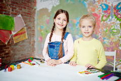 Creative kids Stock Photography