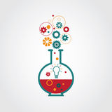 Creative lab stock illustration