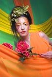 Creative lady. Stock Photo