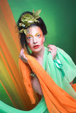 Creative lady. Royalty Free Stock Photo