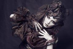 Creative lady royalty free stock image