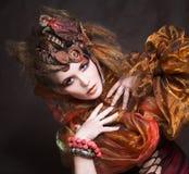 Creative lady royalty free stock photos
