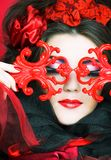 Creative lady. Royalty Free Stock Photography