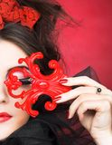 Creative lady. Royalty Free Stock Images