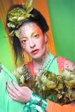 Creative lady. Royalty Free Stock Image