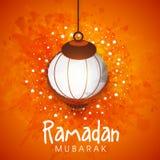 Creative lantern for Ramadan Mubarak celebration. Stock Image
