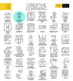 Creative learning royalty free illustration