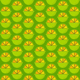 Creative lemon pattern design Royalty Free Stock Photography
