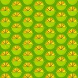 Creative lemon pattern design Royalty Free Stock Photography