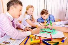 Creative lesson Royalty Free Stock Photo