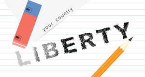 Creative liberty Stock Images