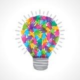 Creative light-bulb Stock Images