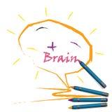 Creative light bulb Idea concept background Stock Images