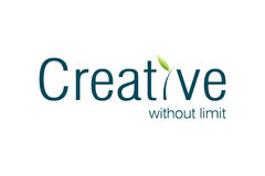 Creative Logo. For creative advertising agencies, be creative Stock Image