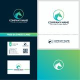 Creative horse logo design concept template royalty free illustration
