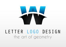 Creative Logo letter design for brand identity, company profile Royalty Free Stock Image