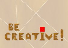 Creative logo - cdr format royalty free illustration