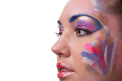 Creative make-up. Stock Photography