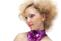 Creative make-up. Royalty Free Stock Photos
