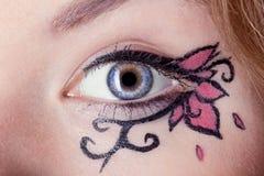 Creative make-up Stock Photo