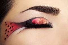 Creative make-up Stock Photos