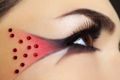 creative make-up Stock Image