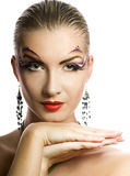 Creative Make-up Royalty Free Stock Photography