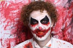 Clown joker make up Stock Photos
