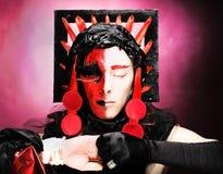 Creative make-up Royalty Free Stock Photos