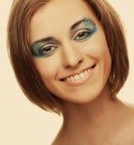 Creative makeup. Royalty Free Stock Photos