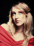 Creative makeup. Stock Photos