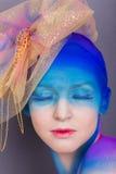 Creative makeup Royalty Free Stock Photos