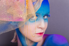 Creative makeup Royalty Free Stock Image