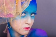 Creative makeup Stock Image