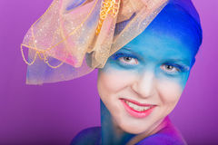 Creative makeup Royalty Free Stock Images