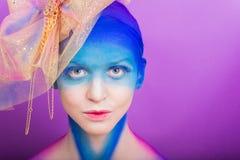 The creative makeup Royalty Free Stock Photos