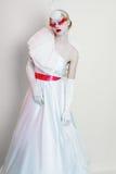 Creative Makeup modelo fêmea bonito Imagem de Stock Royalty Free