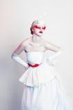 Creative Makeup modelo femenino hermoso Imágenes de archivo libres de regalías