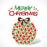 Creative merry Christmas background Stock Photo