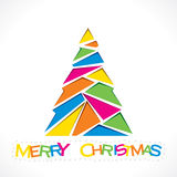Creative merry Christmas background Stock Photography
