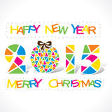 Creative merry Christmas background Royalty Free Stock Photos
